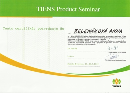 tiens products